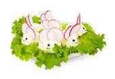Ovos parecem mouses — Fotografia Stock
