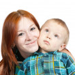 Mother with her son — Stock Photo