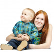 Mother with her son — Stock Photo #3403739