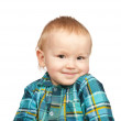 Smiling two-year boy — Stock Photo