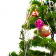 Closeup of Christmas fir tree — 图库照片