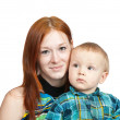 Mother with her son — Stock Photo #3407242
