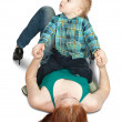 Mother with her son — Stock Photo #3407320