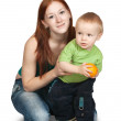 Mother with her son — Stock Photo #3407395