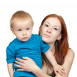 Mother with her son — Stock Photo #3407504