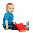 Boy with book — Stock Photo #3407633