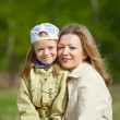Mother with her daughter — Stock Photo #3411437