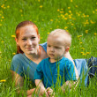 Mother and son — Stock Photo #3415824