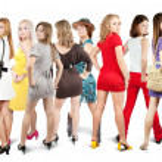 Stylish girls — Stock Photo