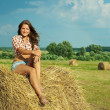 Country girl — Foto de stock #3575842