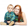 Mother with her son — Stock Photo #3576543