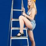 Sexy female builder — Stock Photo #3577465