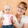 Mother with her little daughter — Stock Photo #3577489