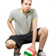 Sporty man — Stock Photo
