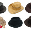 Royalty-Free Stock Photo: Set of hat
