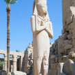 Statue of Ramses II in Karnak temple — Stock Photo #3578608