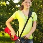 Gardening girl — Stock Photo #3578732