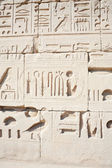 Wall in the Karnak Temple — Stockfoto