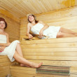 Постер, плакат: Women at sauna