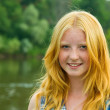Red-haired teenager girl — Stock Photo #3585185