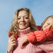 Mother with daughter — Stock Photo #3586214