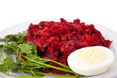 Stewed beet and carrot — Stock Photo