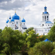 Orthodoxy monastery in Bogolyubovo — Stock Photo #3816035