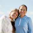 Stock Photo: Mother with her daughter