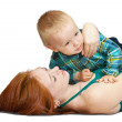 Mother with her son — Stock Photo #3824931