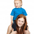 Mother with her son — Stock Photo #3825130