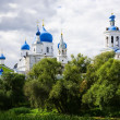 Orthodoxy monastery in Bogolyubovo - Stock Photo