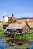 Młyn wodny z klasztoru zbawiciela euthimiev — Zdjęcie stockowe