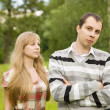 Couple having quarrel — Stock Photo #3832772