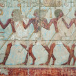 wall decor at the hatshepsut temple — Stock Photo
