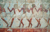 Wall decor at the Hatshepsut Temple — 图库照片