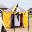 Knight tent — Stock Photo #3840035