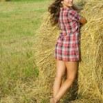 Ładna dziewczyna — Zdjęcie stockowe