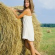 Country girl — Stock Photo #3840675
