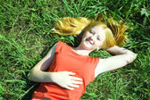 Ragazza adolescente — Foto Stock