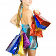 Girl with shopping bags — Stock Photo #4101989