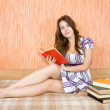 Reading girl — Stock Photo #4104758