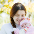 Mother with her baby — Stock Photo #4109590