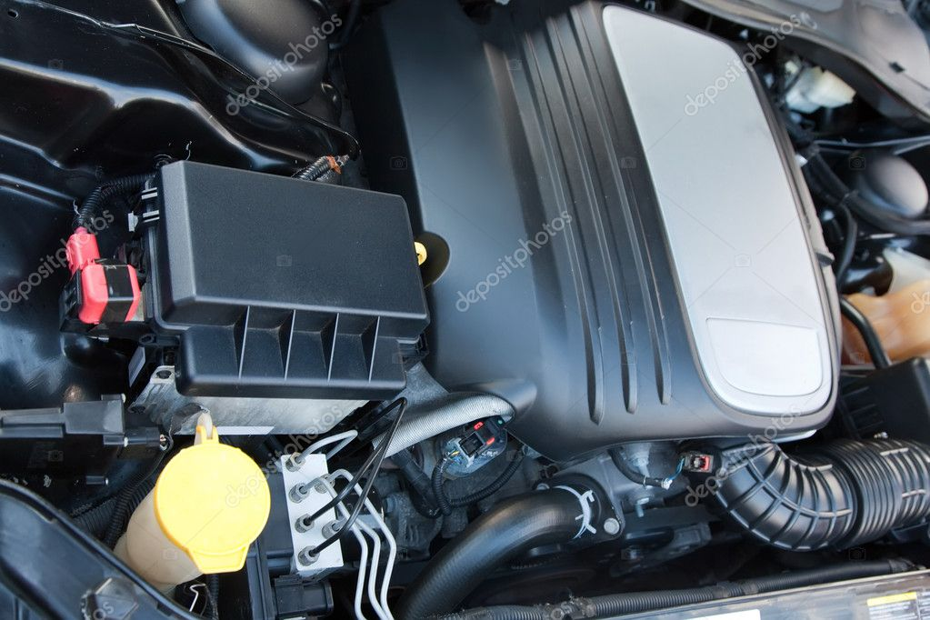 The new  fuel engine of modern vehicle — Foto Stock #4109541