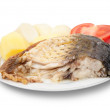 Carp fish with potatoes - Photo