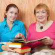 Reading women — Stock Photo