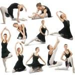 Female dancer — Stock Photo #4111983