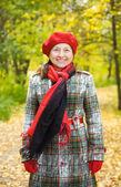 Portrait of senior woman — Stock Photo