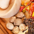 Various natural spiciness — Stock Photo