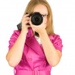 Royalty-Free Stock Photo: Girl  taking photo