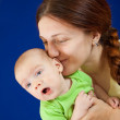Mother with her baby — Stock Photo #4617147